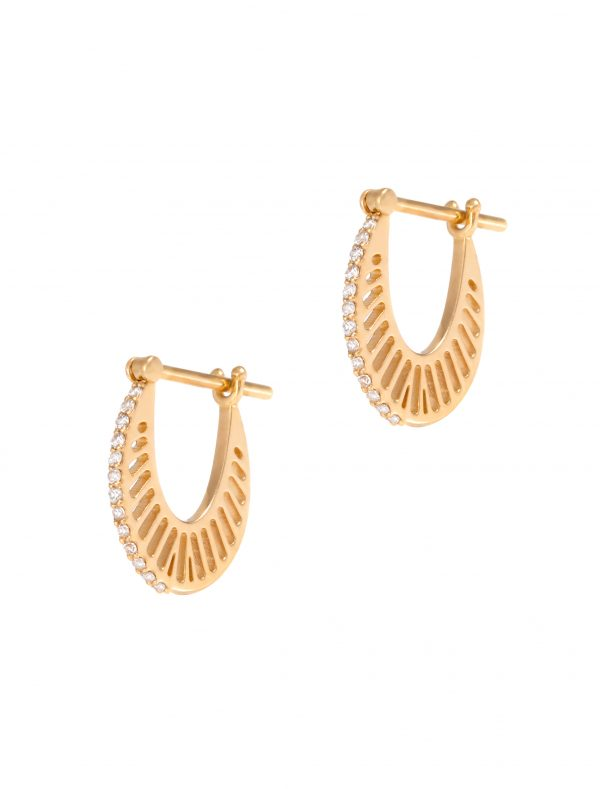 Flat Ray Hoops-Size 1