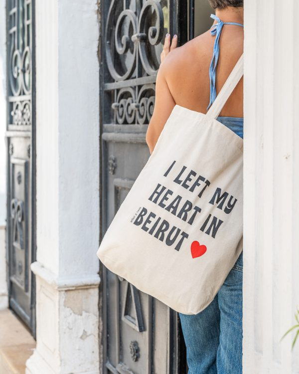 Left My Heart Tote Bag