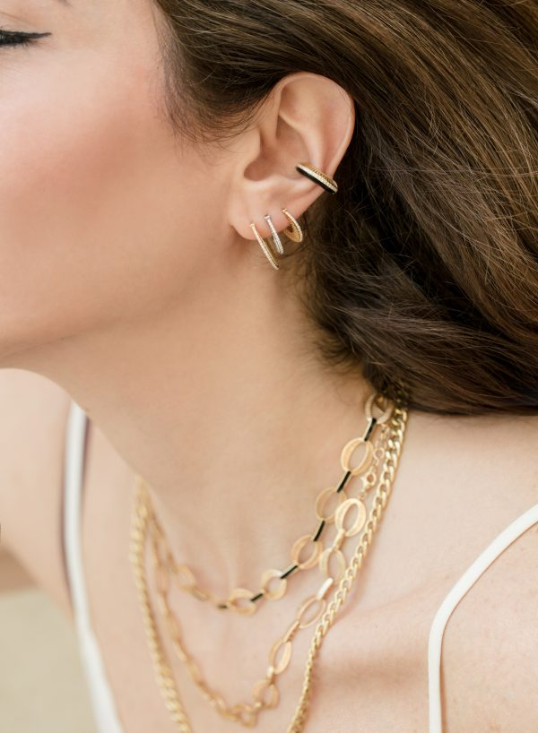 Flat Ray Hoops-Size 2