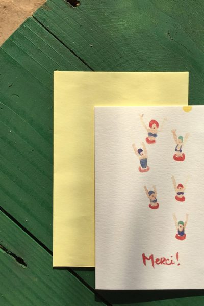 Baigneuses Greeting Card