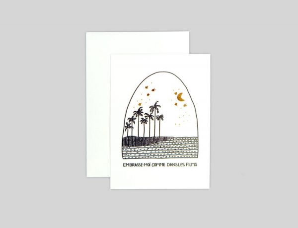 Embrasse-Moi Greeting Card
