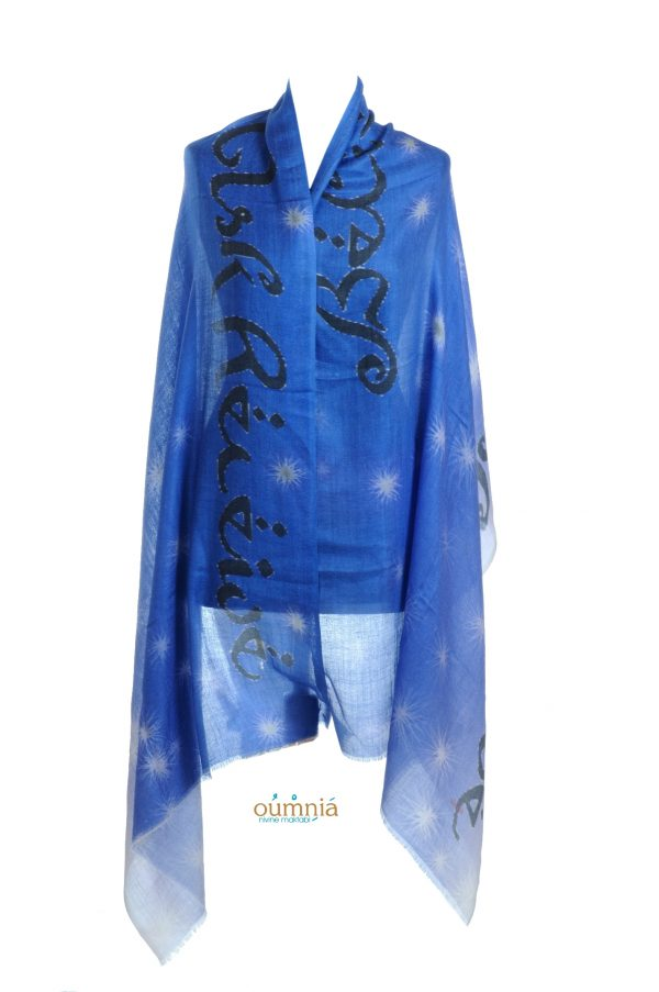 Believe Ask Receive Rayon Message scarf