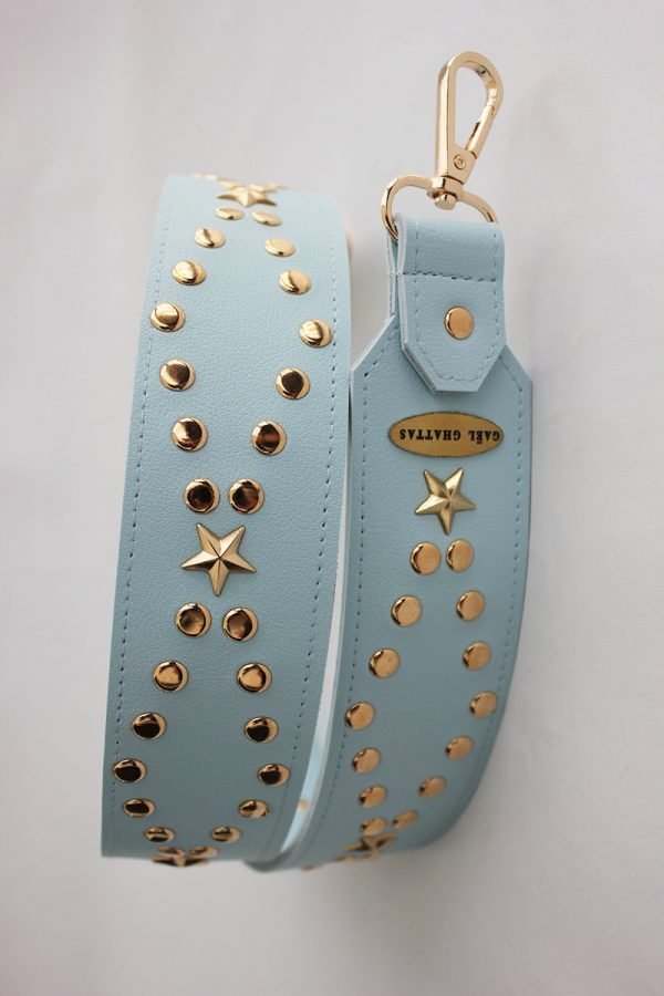 Studded Baby Blue