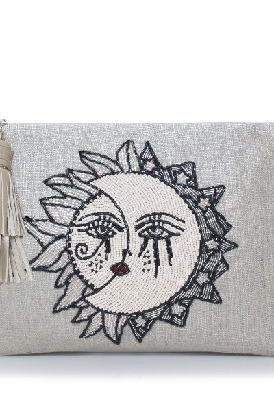 SUN TO MOON SILVER POUCH
