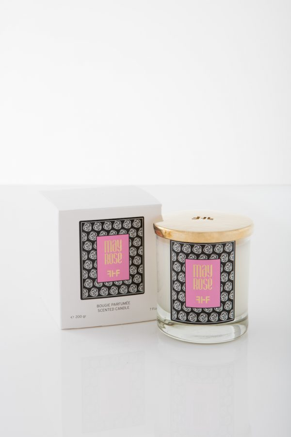 May Rose Candle