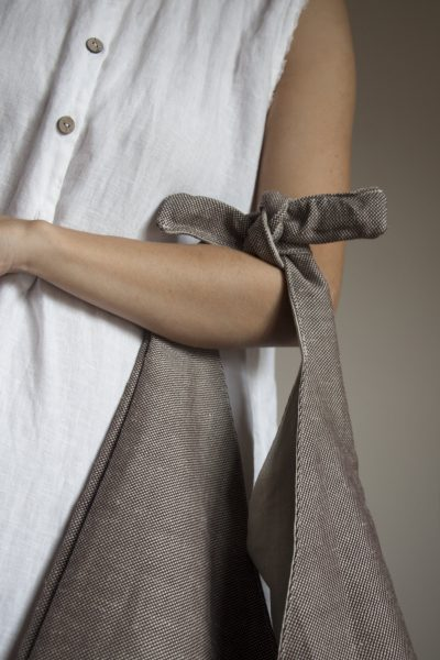 Saturday Linen Brown Lunch Bag