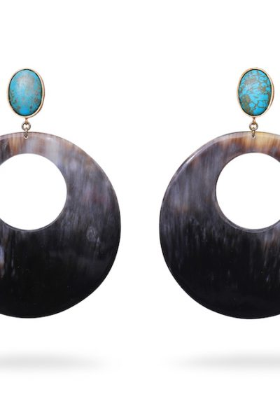 Turquoise and Buffalo Horn