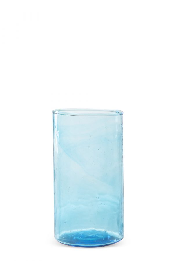 Turquoise Tall Glass Set of 4