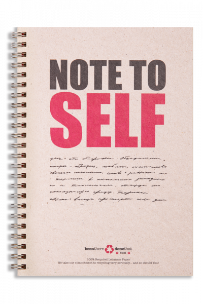 Note To Self Notepad