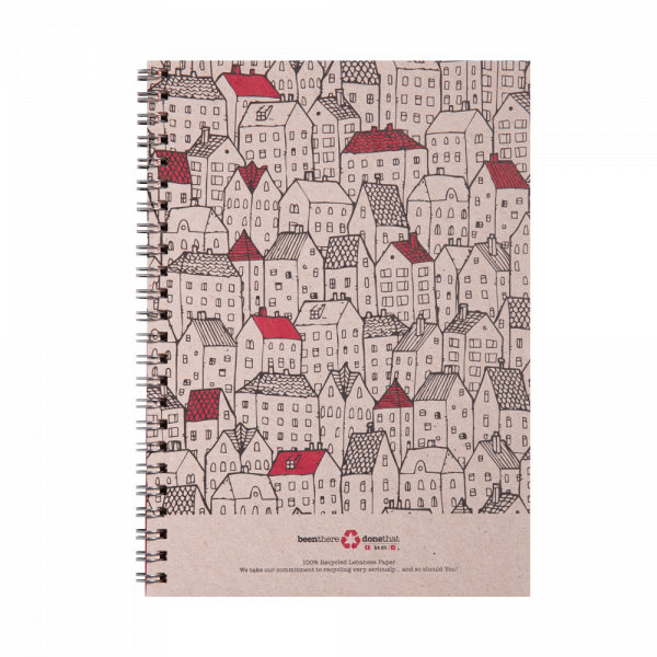 Rooftops Notepad