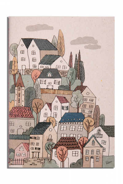 Houses Notepad