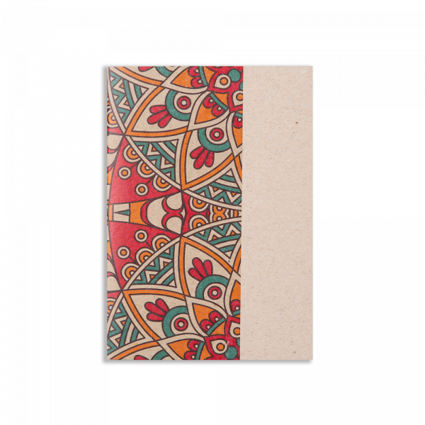 Textile Red Notepad
