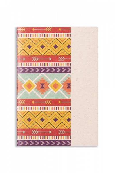 Textile Yellow Notepad