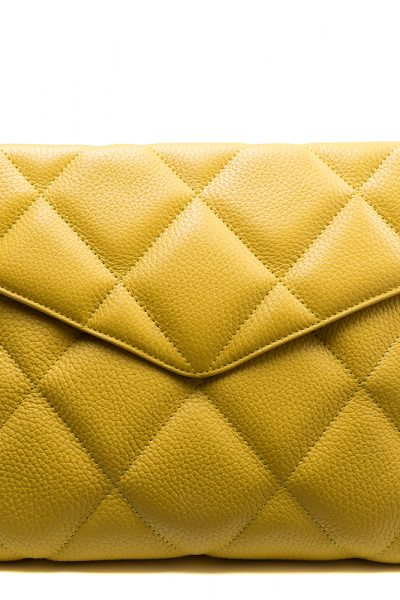 Charlotte Yellow Pouch