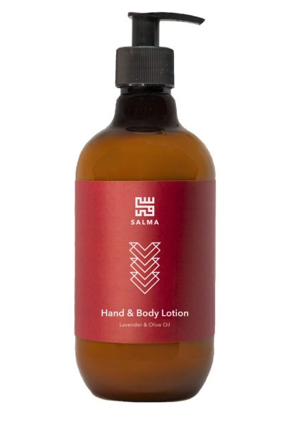 Hand & Body Lotion Lavender & Olive Oil 500mL
